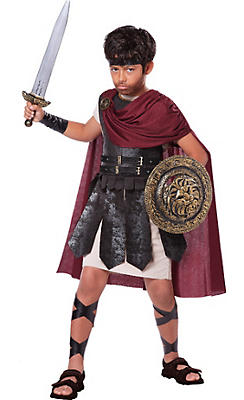 Boys Spartan Warrior Costume