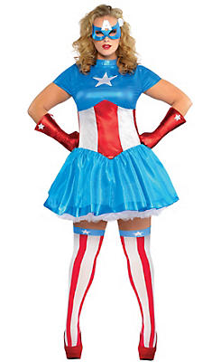 Adult American Dream Costume Plus Size