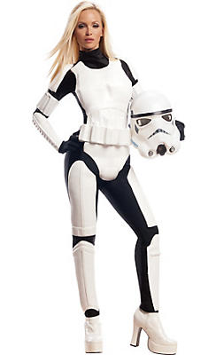 Adult Sassy Stormtrooper Costume - Star Wars