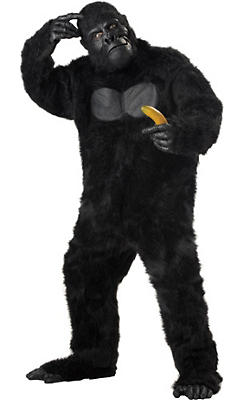 Adult Gorilla Costume Plus Size