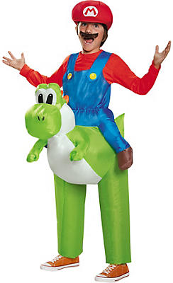 Boys Mario Riding Yoshi Costume - Super Mario Brothers