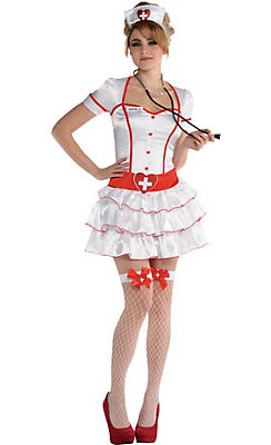 Adult I.V. Sexy Nurse Costume