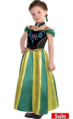 Toddler Girls Anna Coronation Costume - Frozen