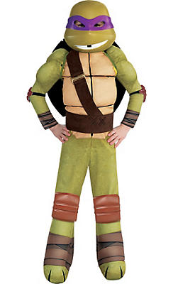 Little Boys Donatello Muscle Costume - Teenage Mutant Ninja Turtles
