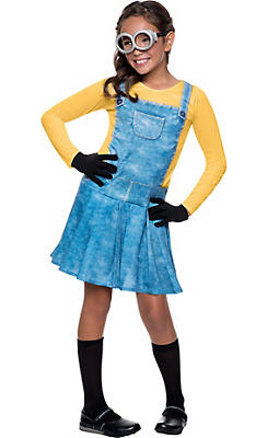 Girls Minion Costume - Minions Movie