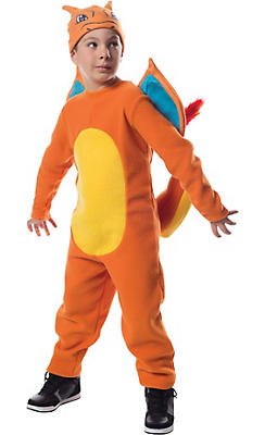 Boys Charizard Costume - Pokemon
