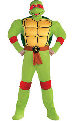 Adult Raphael Muscle Costume Plus Size - Teenage Mutant Ninja Turtles