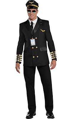 Adult Captain Wingman Pilot Costume