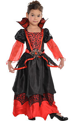 Toddler Girls Vampire Queen Costume