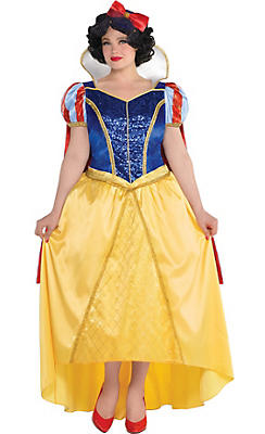 Adult Snow White Costume Couture Plus Size - Snow White and the Seven Dwarfs