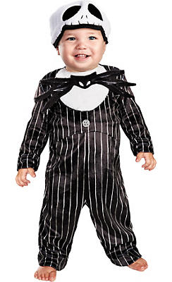Baby Jack Skellington Costume Prestige - The Nightmare Before Christmas