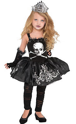 Little Girls Zomberina Costume