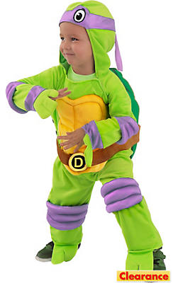 Baby Donatello Jumpsuit Costume - Teenage Mutant Ninja Turtles