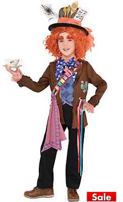 Little Boys Mad Hatter Costume - Alice Through the Looking Glass