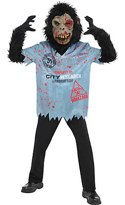 quick shop boys zombie chimp costume online only - Halloween Costumes Of Zombies