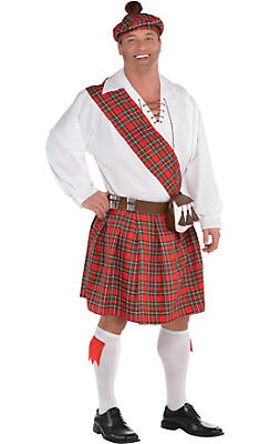 Adult Hot Shot Scott Costume Plus Size