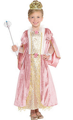 Toddler Girls Princess Rose Costume