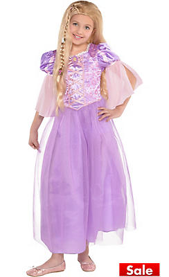 Girls Rapunzel Costume - Tangled