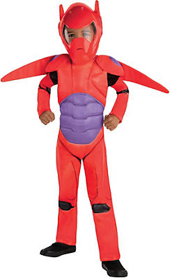 Toddler Boys Red Baymax Costume - Big Hero 6