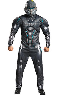 Adult Halo Spartan Locke Muscle Costume - Halo