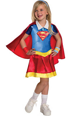Little Girls Supergirl Costume - DC Super Hero Girls