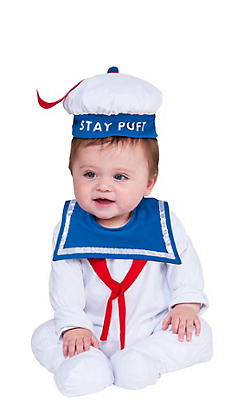 Baby Stay Puft Marshmallow Man Costume - Ghostbusters