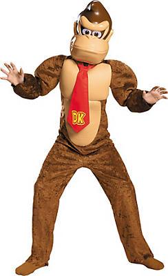 Boys Donkey Kong Costume - Super Mario