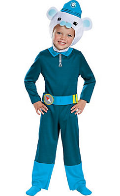 Toddler Boys Captain Barnacles Costume - The Octonauts