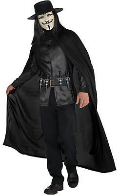 Adult V Costume - V for Vendetta