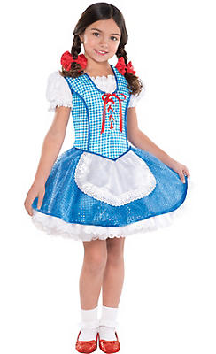 Girls Dorothy Costume - The Wizard of Oz