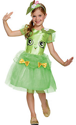 Girls Apple Blossom Costume - Shopkins
