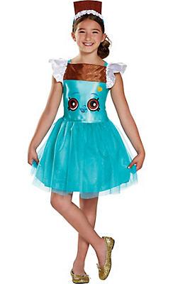 Girls Cheeky Chocolate Costume - Shopkins