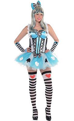 Adult Alice in Wonderland Costume Premier