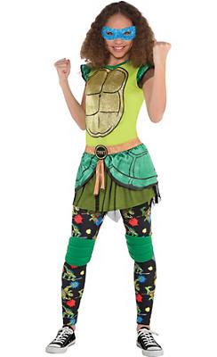Girls Leonardo Costume - Teenage Mutant Ninja Turtles