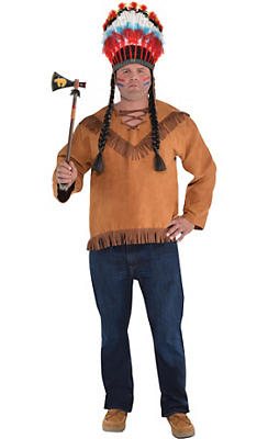 Adult Native American Costume Plus Size
