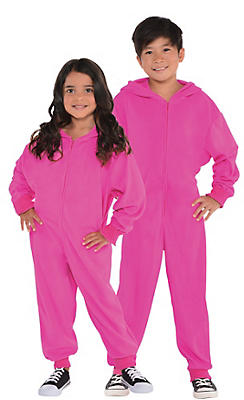 Child Zipster Pink One Piece Costume