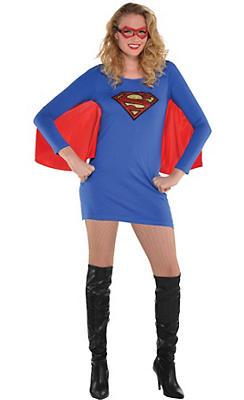 Adult Supergirl Costume