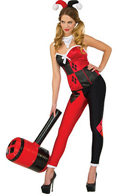 Adult Harley Quinn Costume - Batman