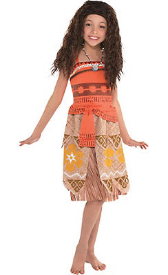 quick shop girls moana costume - City Party Halloween Costumes