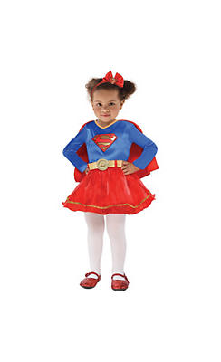 quick shop baby classic supergirl costume - Halloween Costume For Baby Girls