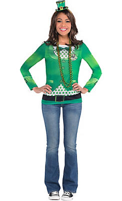 Adult Fancy St. Patrick's Day Costume