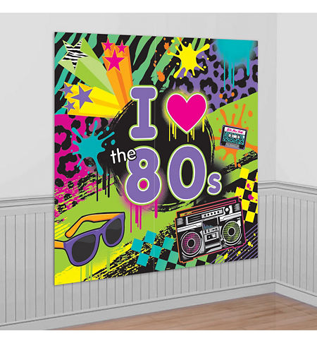 Totally 80s theme party supplies party city canada for 80s theme party decoration