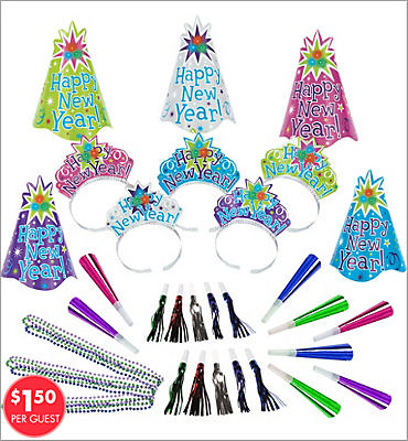 Light Up New Years <span class=messagesale><br><b>Party Kit For 10</b></br></span>