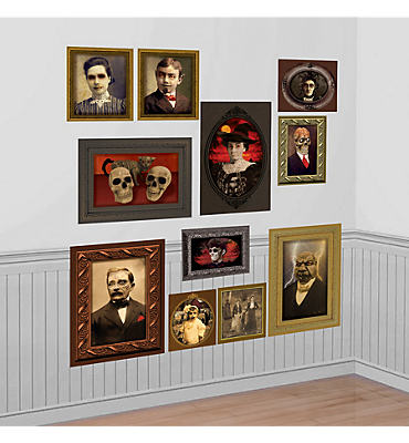 Gothic Mansion Portraits Scene Setters