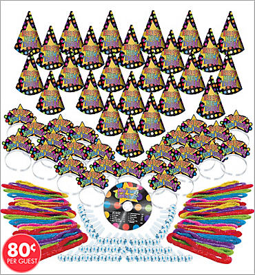 Dance Party New Years <span class=messagesale><br><b>Party Kit For 50</b></span>