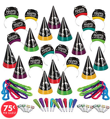 Simply Stated New Years <span class=messagesale><br><b>Party Kit For 100</b></br></span>