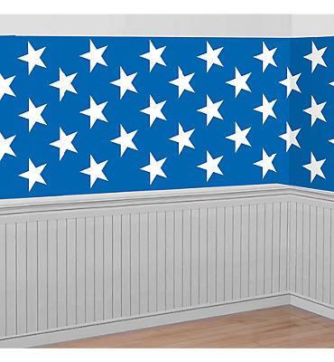 Patriotic Stars Room Roll
