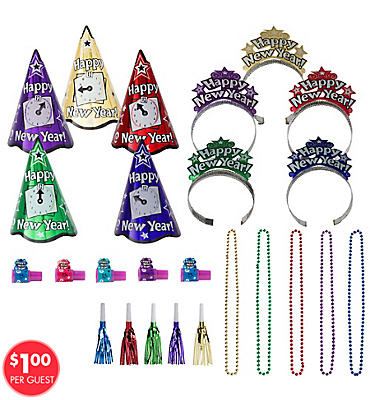 New Years Night Jewel <span class=messagesale><br><b>Party Kit For 10</b></br></span>