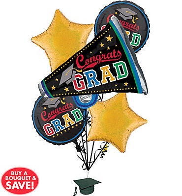 Graduation Balloon Bouquets - Party City