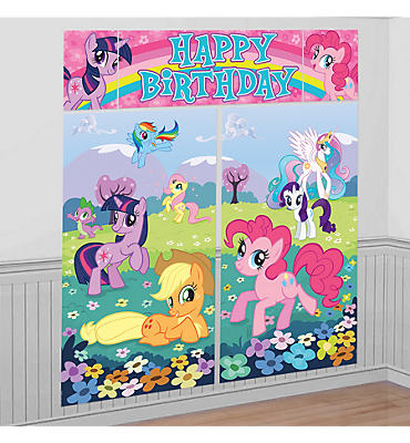 My Little Pony Scene Setter 5pc